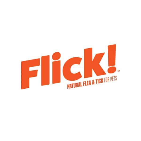 Flick! Natural Flea and Tick For Pets Logo