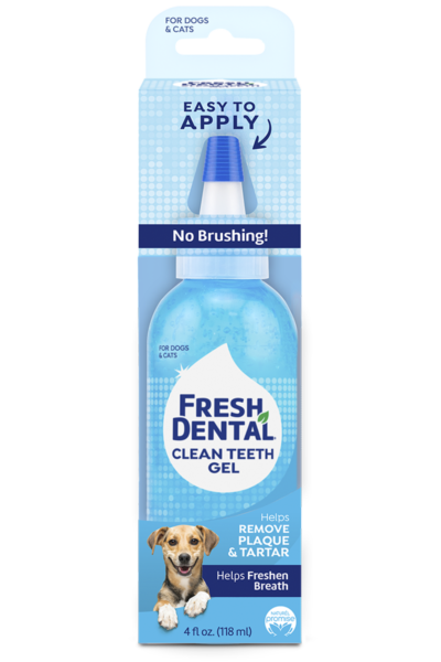 Naturel Promise Fresh Dental Clean Teeth Gel For Dogs Plaque and Tartar Remover