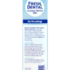 Naturel Promise Fresh Dental Clean Teeth Gel For Dogs Plaque and Tartar Remover Back