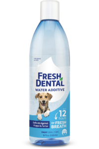 Naturel Promise Fresh Dental Water Additive For Dogs Bad Breath Cure