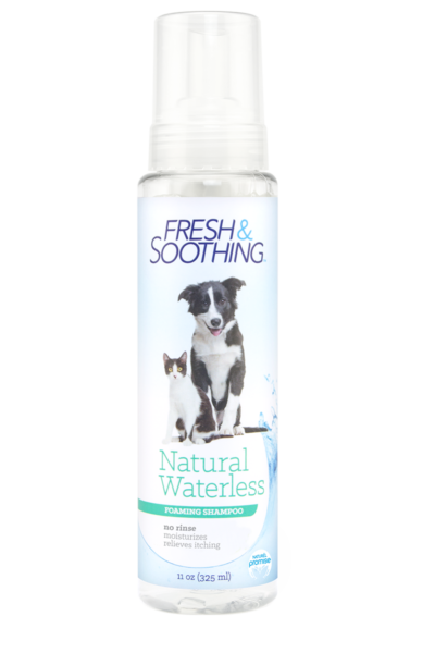 Naturel Promise Fresh & Soothing Naturel Waterless Shampoo for Dogs and Cats